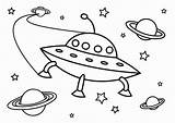 Ufo Coloring Pages Printable sketch template