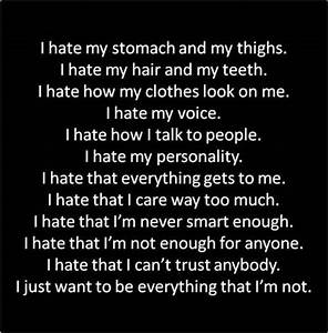 Just want to be everything I'm not   self harm   Pinterest ...