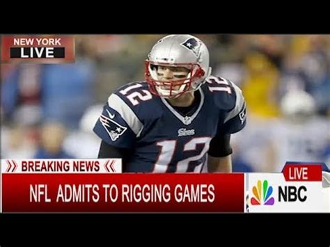 breaking news nfl admits  rigging games  super bowl