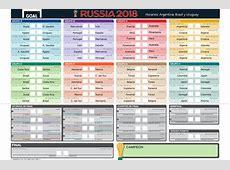 Cómo descargar el fixture del Mundial Excel, Google