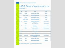 Best Sample For Travel Itinerary Template vlashed