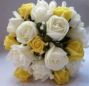Yellow Rose Flowers Bouquet