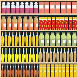 Supermarket food shelf vector Free vector in Open office ...