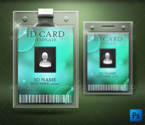amazing id card templates ai word apple pages