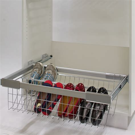 pull out shoe rack organise your organise your renovator mate
