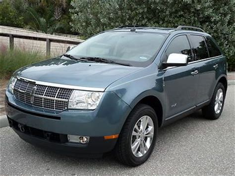Lincoln Mkx Flat Towable  Autos Post