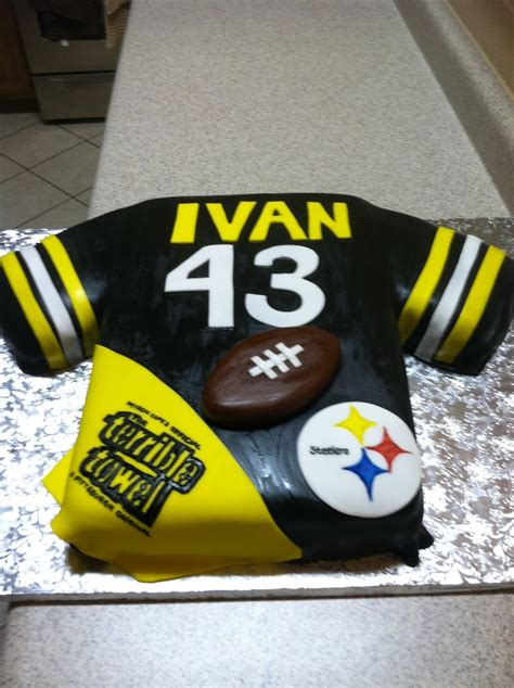 steelers birthday cake pin pittsburgh steelers birthday cake about pat cumbria