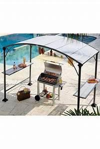 Abri Pour Barbecue Exterieur : tonnelle abri barbecue en acier outdoor pinterest ~ Premium-room.com Idées de Décoration