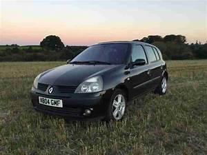 Clio 2 2004 : renault 2004 clio dynamique 1 2 16v 5 door black car for sale ~ Medecine-chirurgie-esthetiques.com Avis de Voitures
