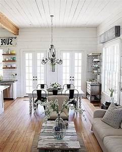 54, Cozy, Modern, Farmhouse, Living, Room, First, Apartment, Ideas