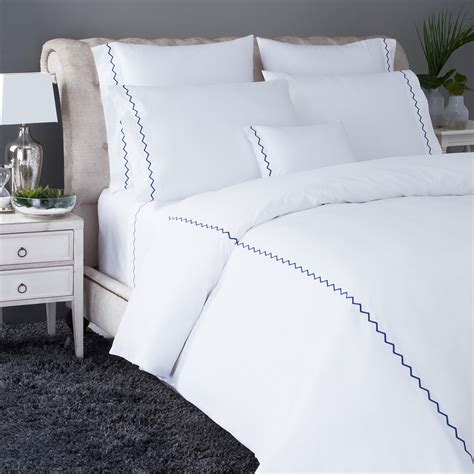 yves delorme bedding yves delorme zigzag bedding collection bloomingdale s