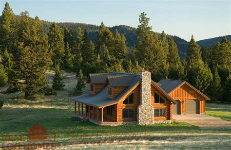 cabin style homes montana cabin floor plan by real log homes