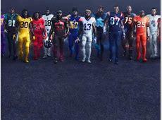 NFL Color Rush uniforms Thursday Night Football jerseys