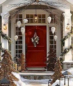 entryway Christmas Decorating Ideas