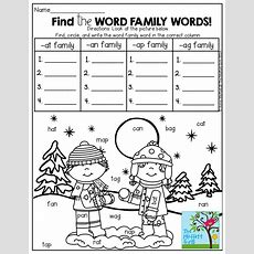 25+ Best Ideas About Word Family Activities On Pinterest  Word Families, Kindergarten Word Work