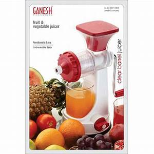 Ganesh Plastic Manual Fruit Vegetable Juicer Price In