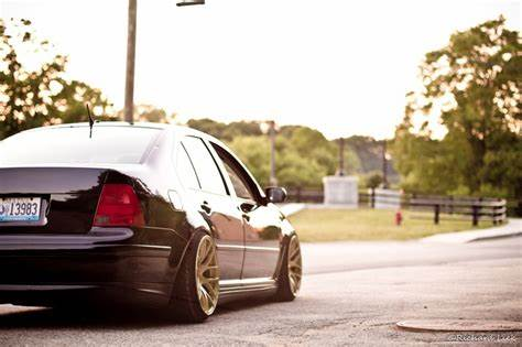 Slammed At A Golf Tourna volkswagen jetta mk4 on xxr wheels