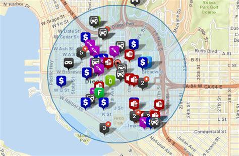 offenders san diego map offenders san diego map