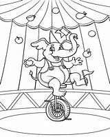 Circus Coloring Pages Printable Carnival Animals Tent Theme Sheets Sheet Print 1000px 89kb Getcolorings Books Coloringme Elephant sketch template