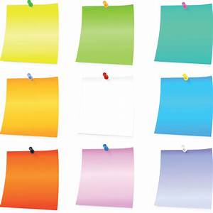 Post It Art : post its clipart clipground ~ Frokenaadalensverden.com Haus und Dekorationen