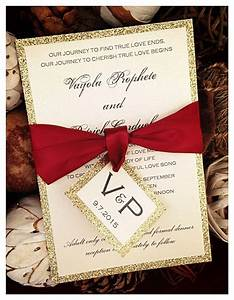 25 best ideas about glitter wedding invitations on With diy red and gold wedding invitations