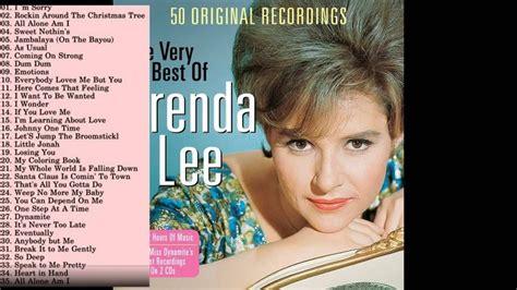 brenda lee hit songs best songs of brenda lee brenda lee s greatest hits
