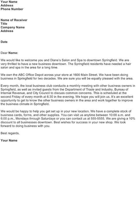 letter sample   business letter
