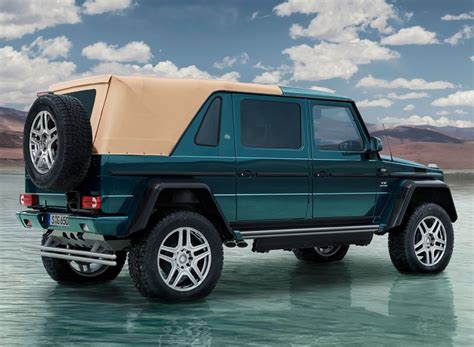 Having set the standards for luxury automobiles for almost a century, mercedes never rest on their laurels and continue to produce. mercedes-maybach G 650 landaulet luxury all-terrain vehicle