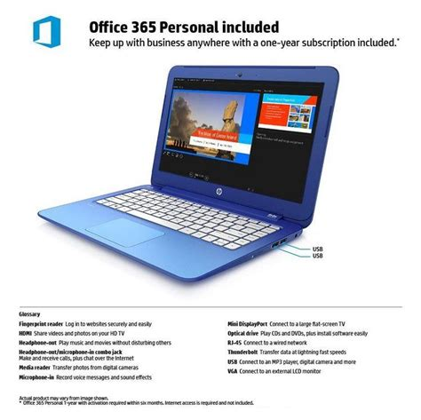 hp 13 4g version with free office 365 personal for