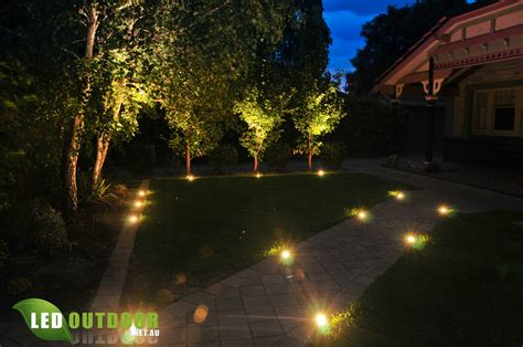 all inground led s lights a lawnmower tough