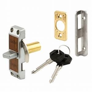 Prime-Line Sliding Door Internal Lock, Aluminum with teel ...