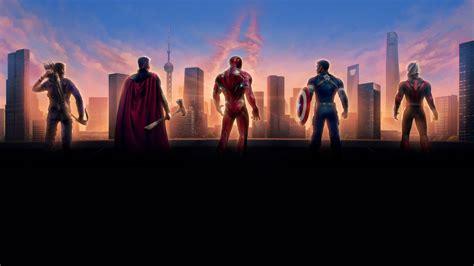 avengers endgame  chinese poster  hd