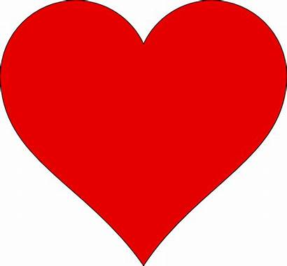 Heart Outline Clipart Clip Transparent Shape Cliparts