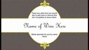6 free printable wine labels you can customize lovetoknow With free wine labels to print