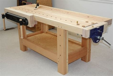 Woodworking Bench by Woodworking Bench Bob Vila