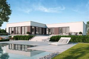 Bungalow 200 Qm : luxus flachdachbungalow toulouse gussek haus ~ Markanthonyermac.com Haus und Dekorationen