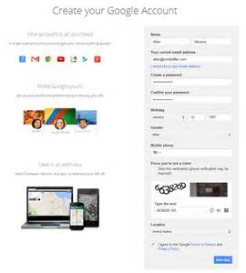 Google Email Account Set Up