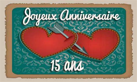 carte virtuelle anniversaire de mariage 15 ans carte anniversaire mariage 15 ans virtuelle gratuite 224