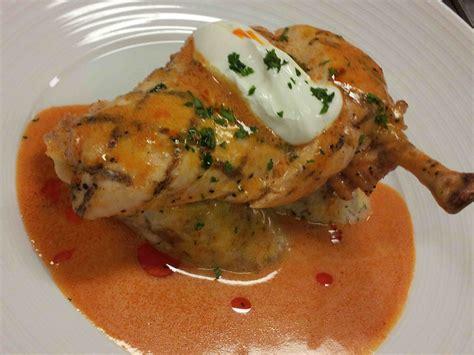 haute cuisine chicken supreme