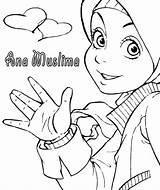 Coloring Muslim Islamic Islam Printable Colouring Activities Muslimah Princess Children Hijab Ramadan Kid Symbols Sketch Religion Getcolorings Getdrawings Activity Surely sketch template