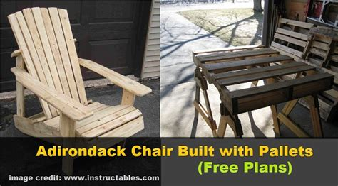 pallet adirondack chair plans diy adirondack chair built with pallets free plans