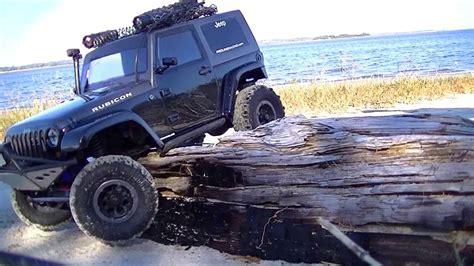 beach jeep wrangler larccawler25 jeep wrangler rubicon beach run youtube