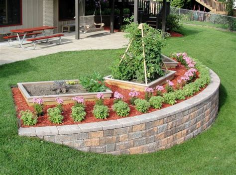Gardens How To Build by How To Build A Garden Retaining Wall Thrifty Outdoors