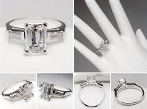 emerald shape engagement rings emerald cut engagement rings fashion trends styles for 2014