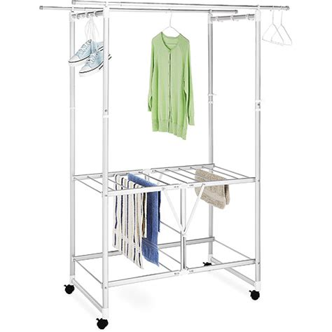 laundry rack walmart whitmor large laundry drying center aluminum walmart