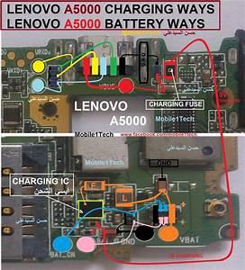 Lenovo A5000 Battery Diagram