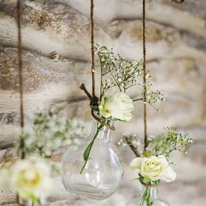 Petite Fiole En Verre : fiole mariage en verre a poser ou suspendre badaboum ~ Teatrodelosmanantiales.com Idées de Décoration