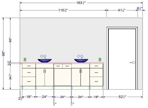hauteur d un meuble de cuisine meuble salle de bain quelle hauteur