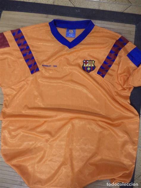 Camiseta del f.c.barcelona réplica meyba wemble - Vendido ...