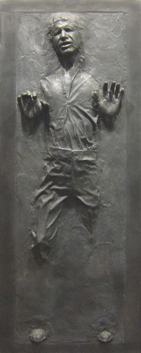 star wars han solo  carbonite wall decal